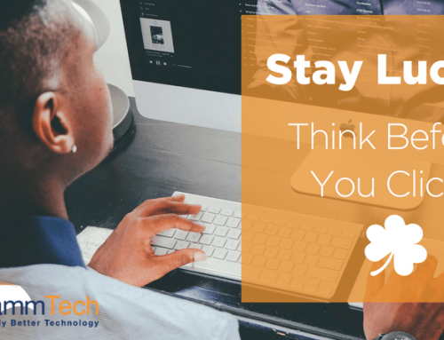 Stay Lucky: Think Before You Click